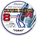 Toray BAWO SUPER EGING PE 8 BRAIDS 120м 0,21мм - фото 7092